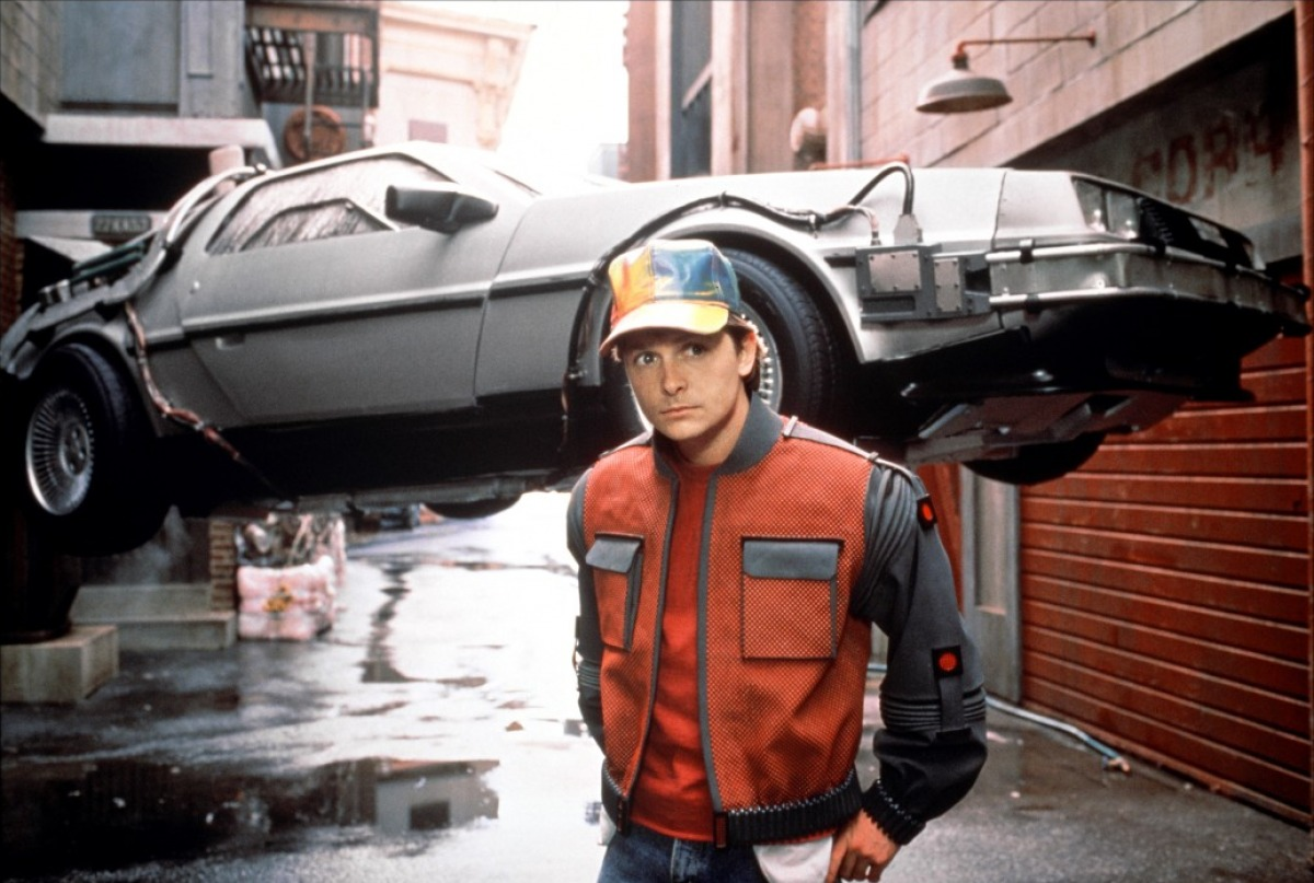Marty DeLorean Retour vers le futur 2
