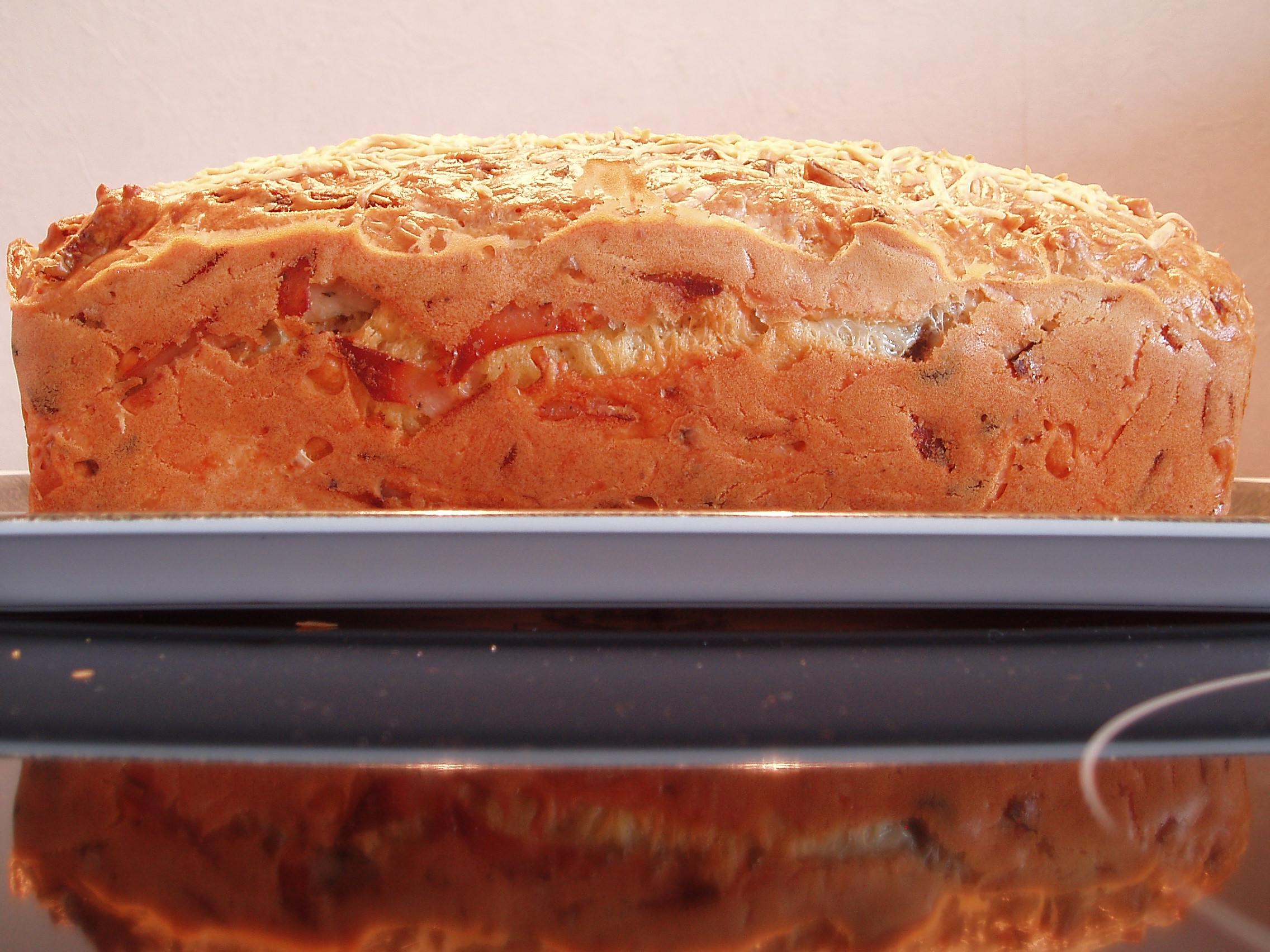 Cake au Bleu de Bresse et aux noix de Dordogne