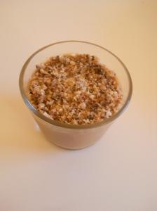 Crèmes fondantes à la pralinoise