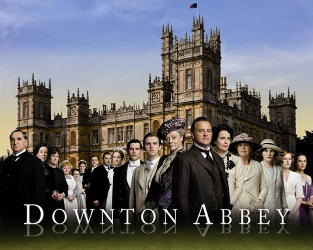 Downton Abbey série, série downton abbey
