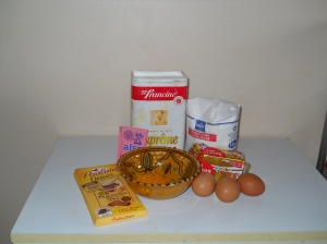 Cupcakes orange et pralinoise
