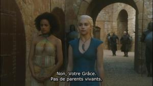 GOT303fashionmoment Missandeï et Daenerys
