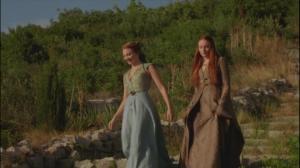Alors qu'ils vivent dans le froid, les Stark sont plus frileux que les Tyrell.