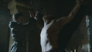 Theon, dans un mauvais remake d'un jour sans fin.