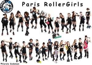roller derby paris rollergirls