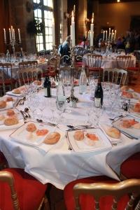 Vaux Le Vicomte restaurant
