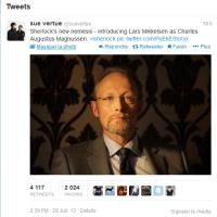 Un nouveau méchant pour la saison 3 de Sherlock...
