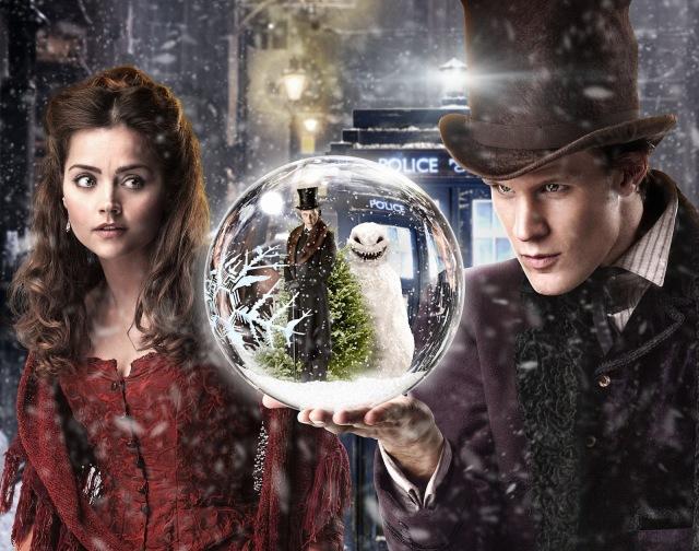 """Un """"Christmas special"""" (2012) que j'aime beaucoup, The Snowmen..."""