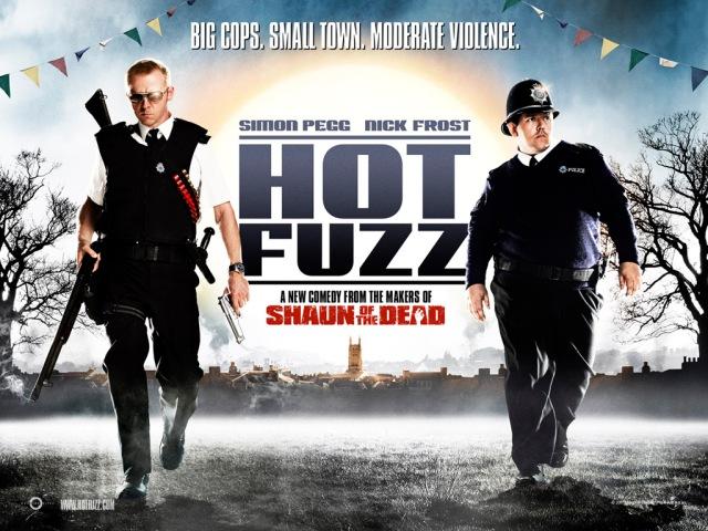 La trilogie du Cornetto, épisode 2: Hot Fuzz (2007)