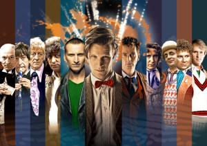 Les onze incarnations du Docteur..
