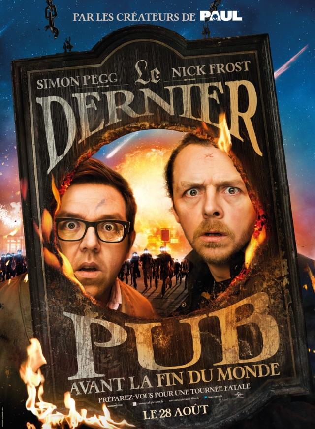 La trilogie du Cornetto, épisode 3: Le Dernier pub avant la fin du monde (2013)[Sortie DVD/Blu-Ray]