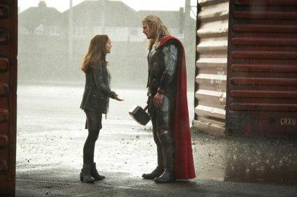 Explication entre Jane et Thor...