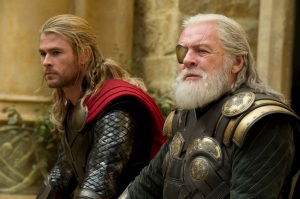 Chris Hemsworth Anthony Hopkins Thor the dark world