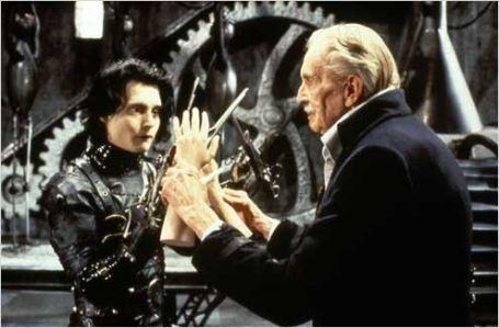 Edward aux Mains d'argent, de Tim Burton (1990)