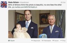 95% des Britanniques trouvent cette photo magnifique, et personne n'aime les 5% restant