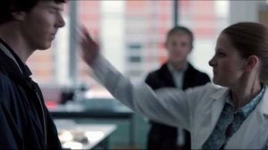 You've just got slapped!