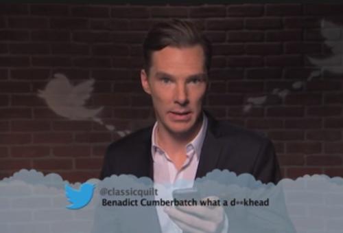 """Sa réponse? """"It's B-E-N-E-D-I-C-T. Dickhead."""" <3"""