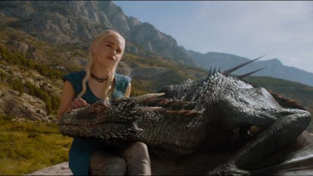 Tout le monde prend son dragon sur ses genoux et c'est parti!
