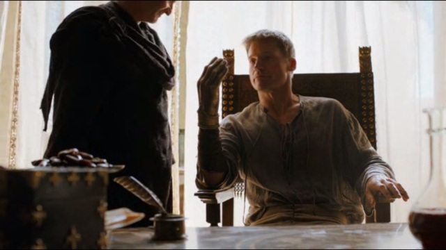Une main en or, mais aucun moyen de faire un doigt d'honneur. Jamie est déçu il ne pourra plus faire sa blague préférée.